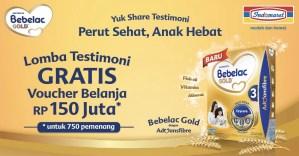 Share Testimoni Bebelac Gold Berhadiah Ratusan Voucher Indomaret