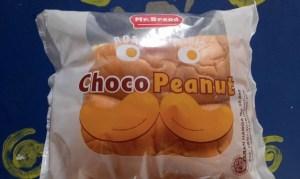 Mr Bread Choco Peanut : Mana Peanutnya?