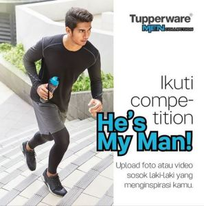 He's My Man Competition Berhadiah Tupperware
