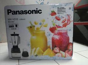 Panasonic Blender  MX  V310 K Black  : Hadiah Kontes Masak Serasa Dirumah