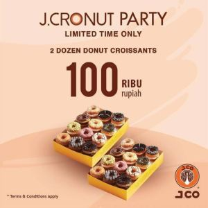 September Ceria, 2 Lusin Donut Only 100K