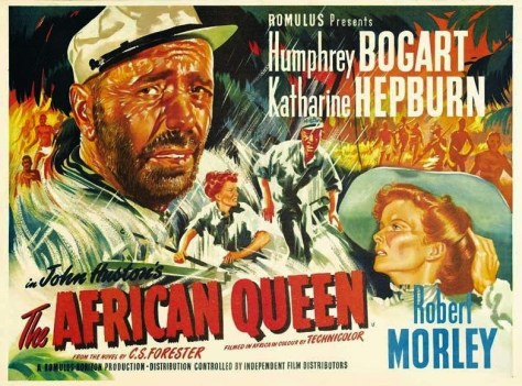 The African Queen Poster