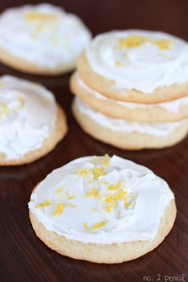 Super Soft Lemon Sugar Cookies