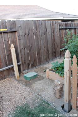 Small Of Diy Fence Garden