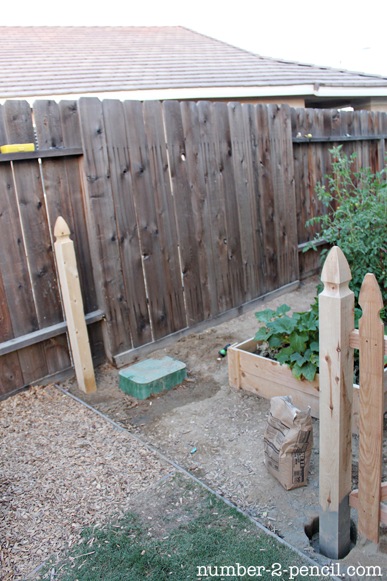 Large Of Diy Fence Garden