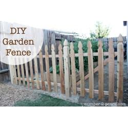 Catchy Build An Easy Diy Garden Fence Build An Easy Diy Garden Fence Pencil Backyard Fence Diy Diy Backyard Fences outdoor Diy Backyard Fence