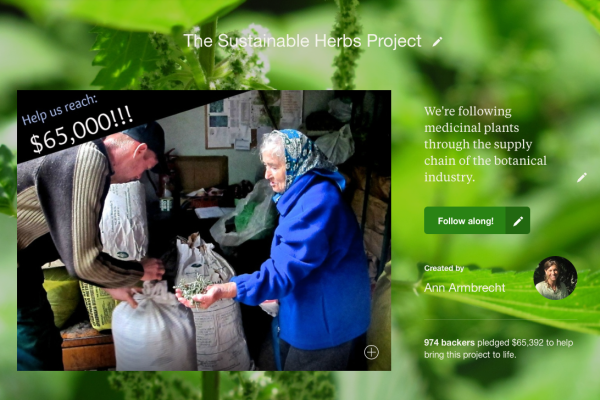 Sustainable Herbs Kickstarter