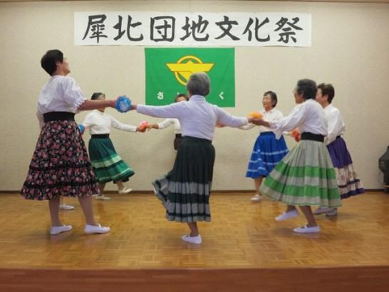 福寿会レクダンス同好会の皆さんの発表です