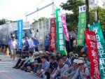 沖縄・高江のオスプレイ・ヘリパッド建設阻止行動に参加【第1報】