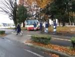長電バス路線の道路状況を現地調査