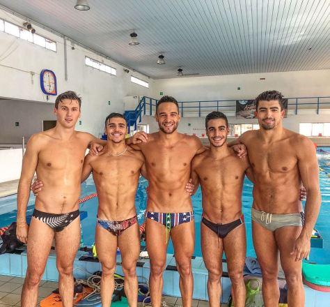 Taras Zerebersky, Edoardo Bertelli, Andrea Farru, Alessandro Tanda, Antonello Ianni.