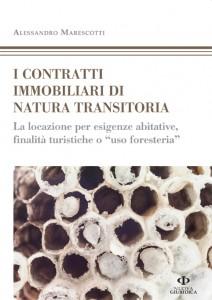cover_MARESCOTTI_I contratti immobiliari di natura transitoria_72dpi