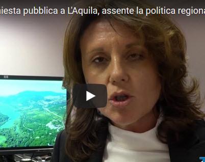 Gas a Bomba: inchiesta pubblica a L'Aquila, assente la politica regionale