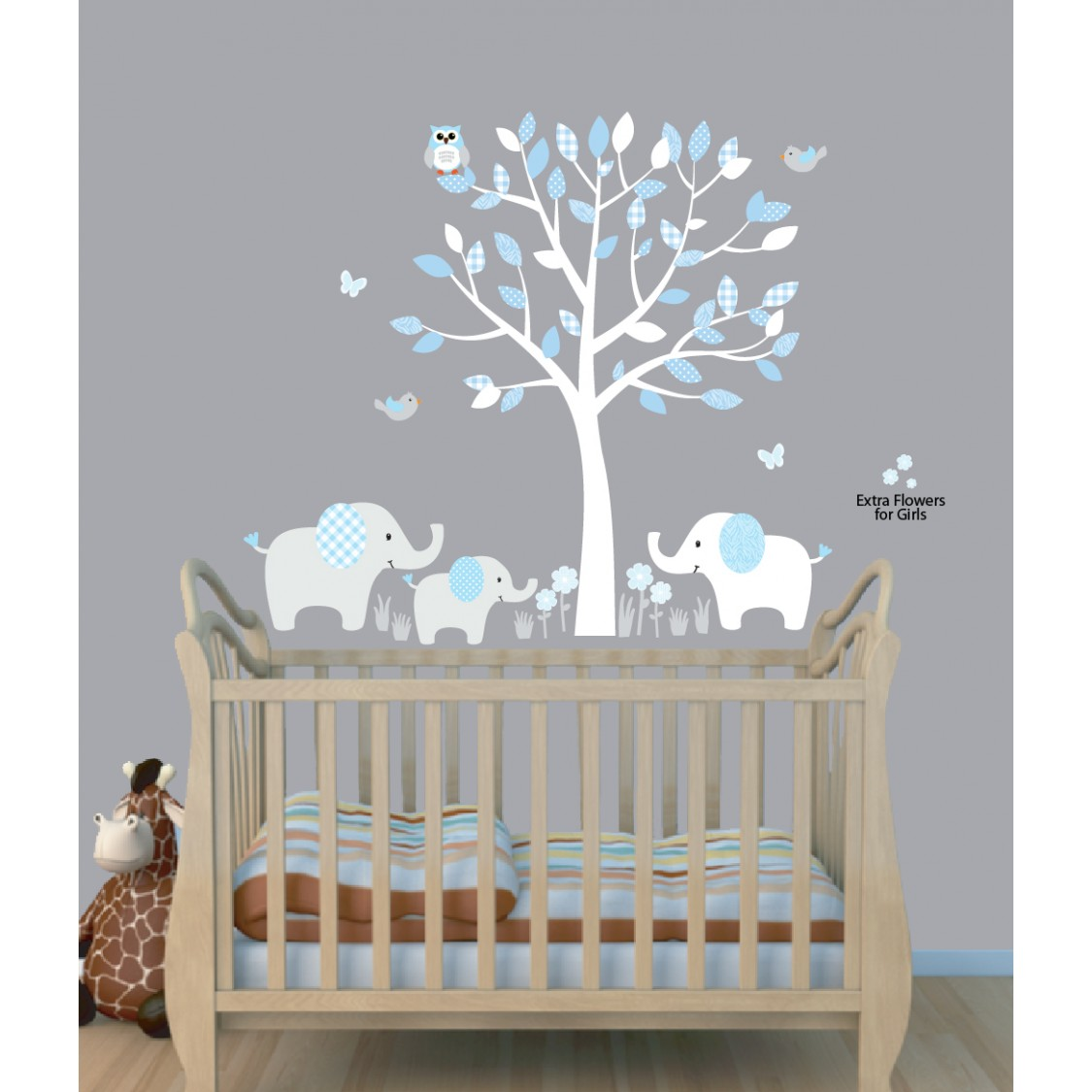 Fullsize Of Nursery Wall Decals