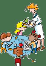 Menjador escolar (imatge de Colegio Público Aldebarán)