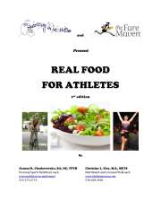 Real Food For Athletes cover