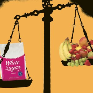 The Two Faces of Sugar: Natural vs. Added