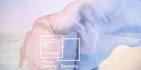 Pantone 2016: Rose Quarz e Serenity