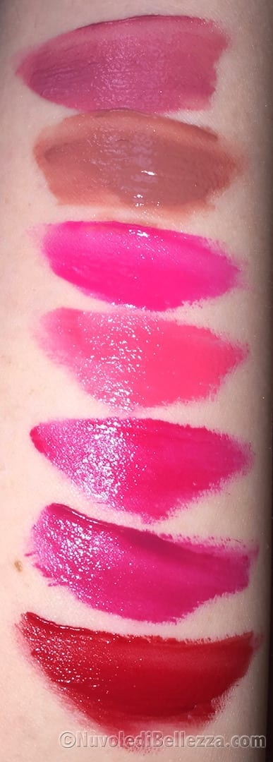 Swatches Maybelline Vivid Matte