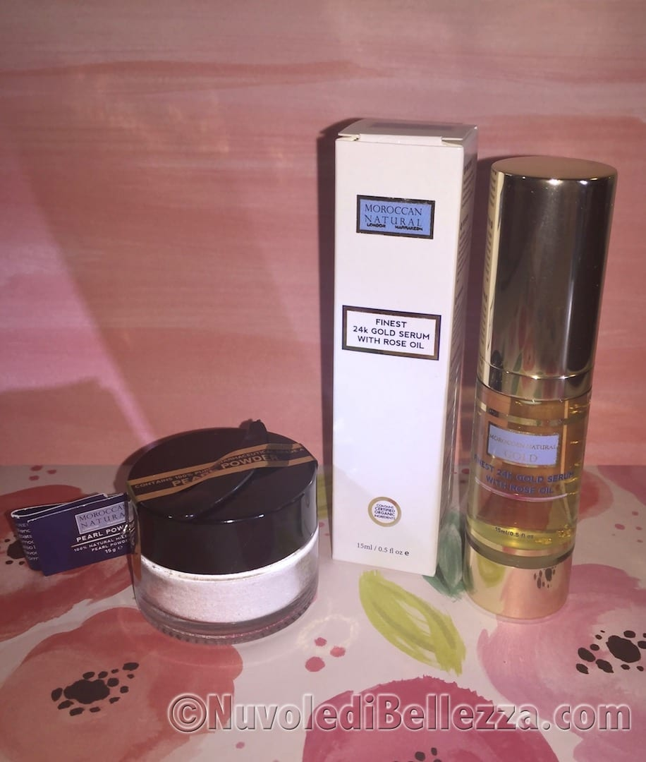 Moroccan Natural Polvere di Perla e Olio di Argan
