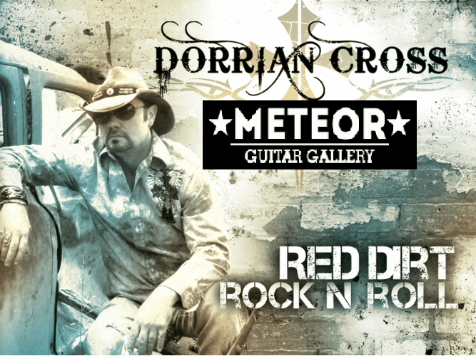 Outlaw Country Comes To Meteor Guitar Gallery