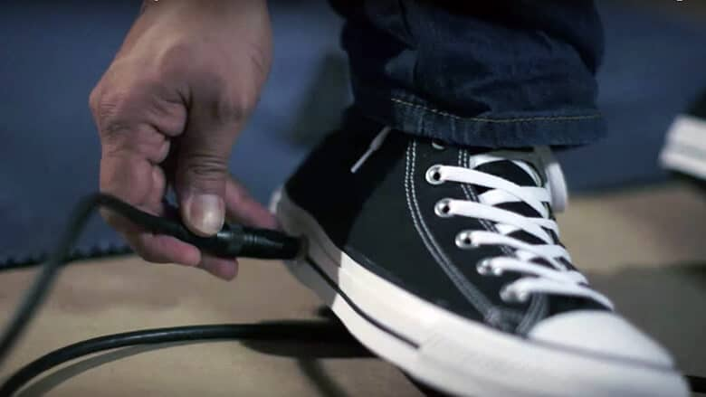 New Converse Has a Built-In Wah Pedal