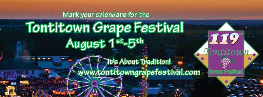 2017 Tontitown Grape Festival Schedule