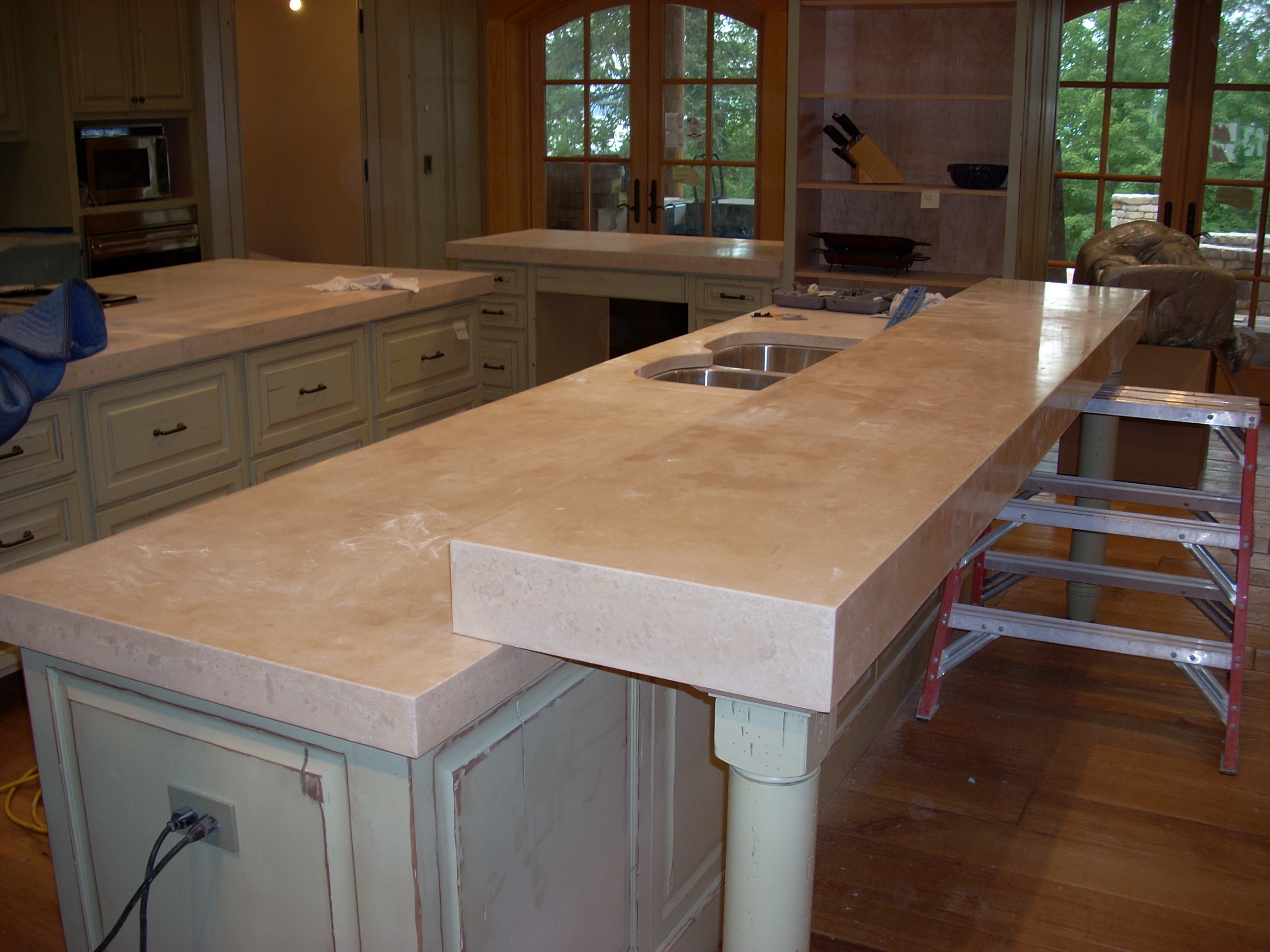 concrete countertop prices kitchen countertops prices Concrete Countertops Vs Granite