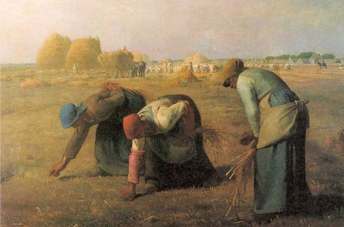File-Millet Gleaners