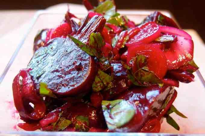 Roasted Beet Salad: Three Variations