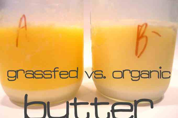 Grassfed vs. Organic Butter, And Which One Will Kill You Faster