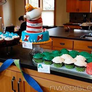 Children's Book Shower Dessert Buffet