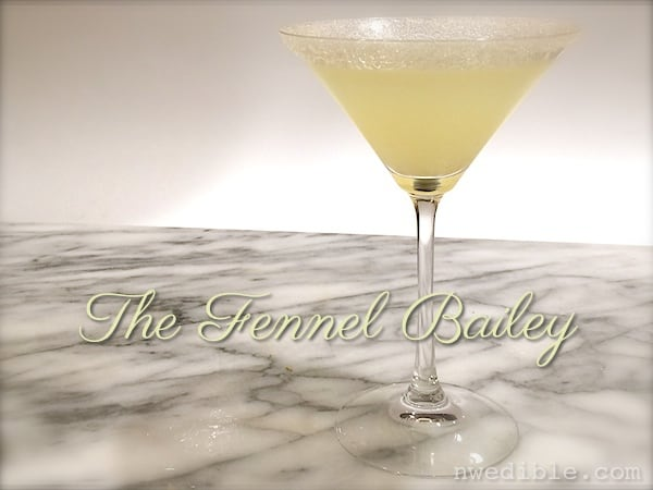 Fennel Gin Cocktail