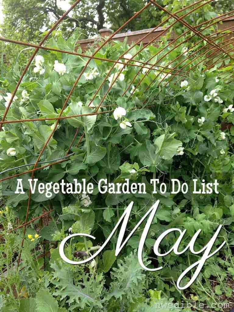 Garden Chores To Do May Graphic