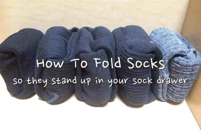 The Life Changing Magic of Folding Socks