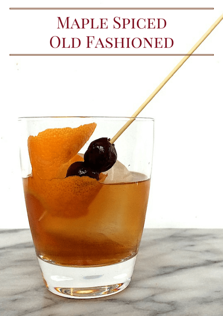 Maple Spiced Old Fashioned2