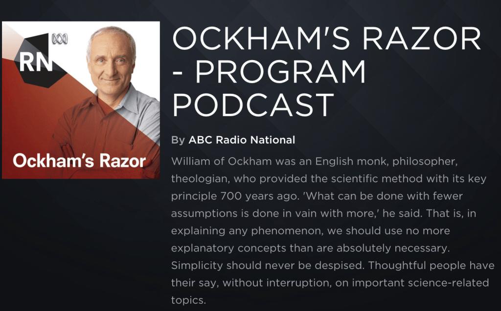 OckhamsRazorPodcast