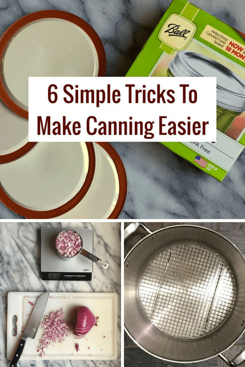 Simple Canning Tricks Pin