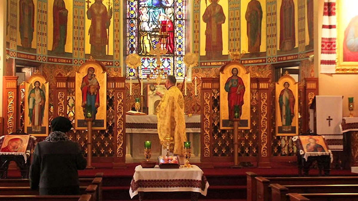 God's Row, Bedford Avenue, Brooklyn: Ukrainians' second home--Catholic Holy Ghost Church