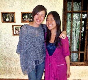 Sharon Yeap & Jennifer Haw at Roslin Orphanage
