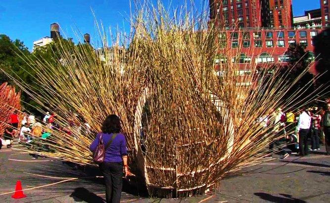 Sukkah on Union Square