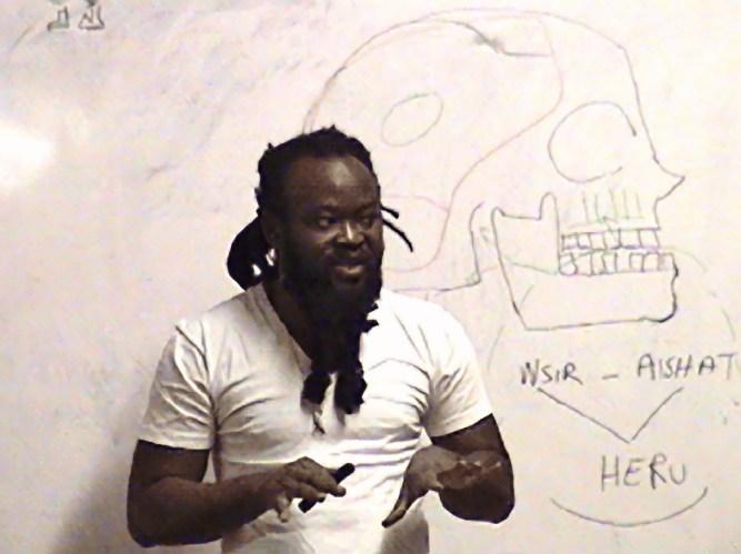 Master Naba teaching class