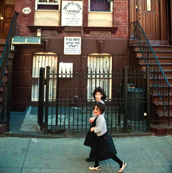 Satmar Girls Photo: Tony Carnes/A Journey through NYC religions