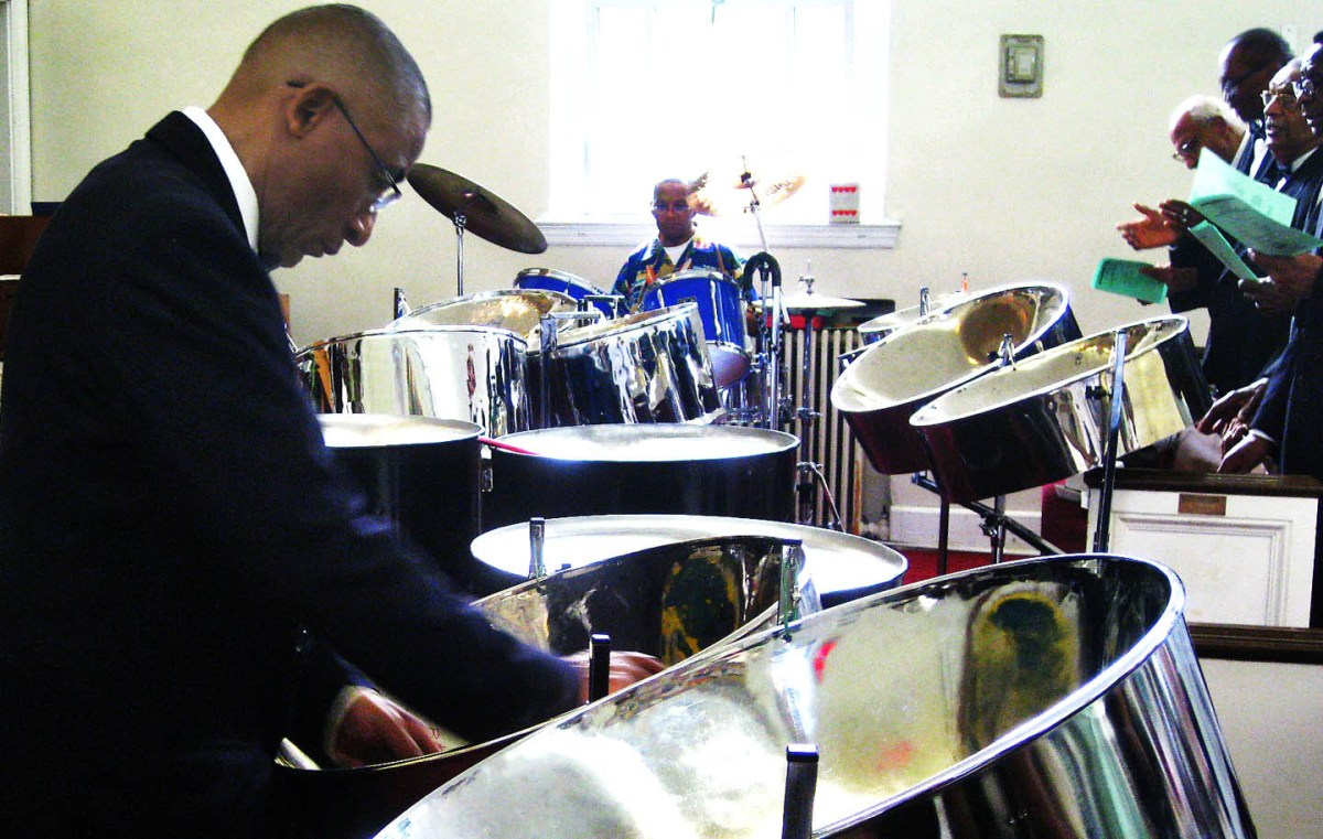 Blessed assurance of steel pan drumming