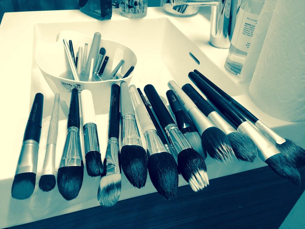 Makeup Brushes, Beauty. Flashback: A Not-So-Secret Career