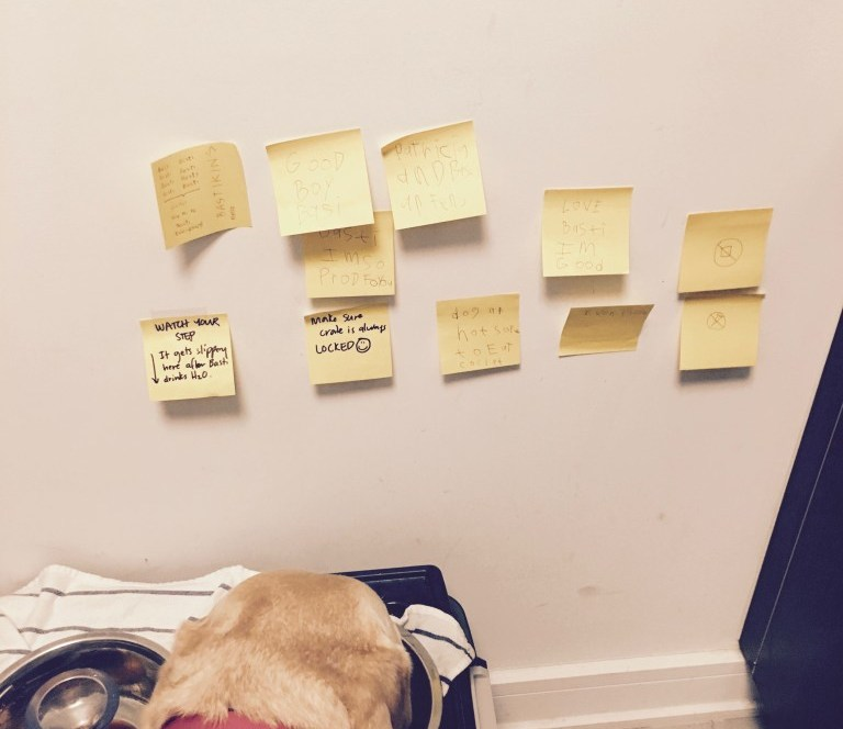 nyminutenow blogging in 2016 yellow post-its