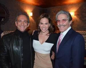 Marty Berman, Erica Levy and Geraldo Rivera © James Edstrom