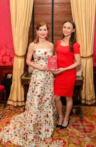 Jean Shafiroff and Georgina Bloomberg