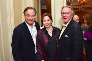 Jim Belushi, Diana and Gary Fisketjon