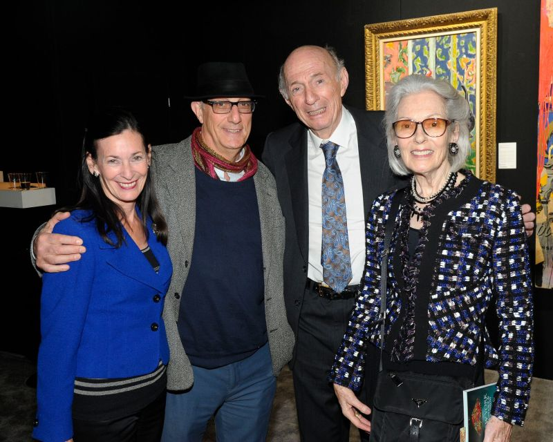 Amy Rossi, Peter Rosenthal, Donald Tober and Barbara Tober _ Credit Owen Hoffman